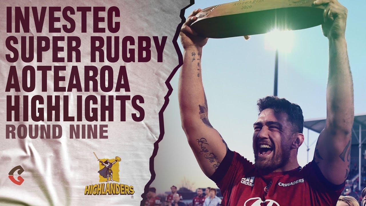 ROUND 9: Crusaders v Highlanders (Investec Super Rugby Aotearoa)