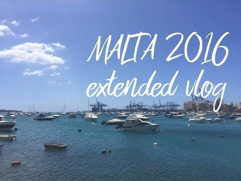 Malta 2016 - extended vlog | HD