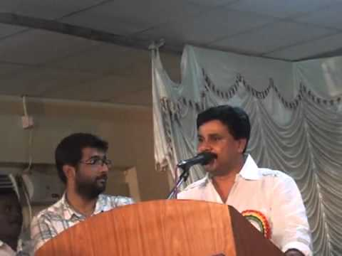 Speech by our Chief Guest - Sri. Dileep(Cine Artist) on the closing ceremony of Kalanjali