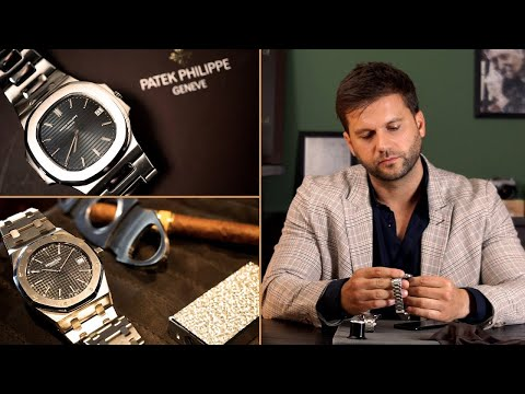 Chrono24 Compares - Patek Philippe Nautilus vs. Audemars Piguet Royal Oak