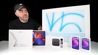 HUGE Apple Unboxing Extravaganza 2021