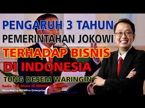 Pengaruh 3 Tahun Pemerintahan Jokowi Terhadap Bisnis di Indonesia