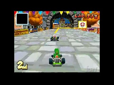 mario kart ds nintendo ds review video review youtube. Black Bedroom Furniture Sets. Home Design Ideas