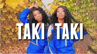 TAKI TAKI - DJ Snake, Cardi B, Ozuna & Selena Gomez Dance Choreography Twin Version