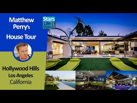 Matthew Perry's Hollywood Hills House Tour | Los Angeles, California | $13.5 Million