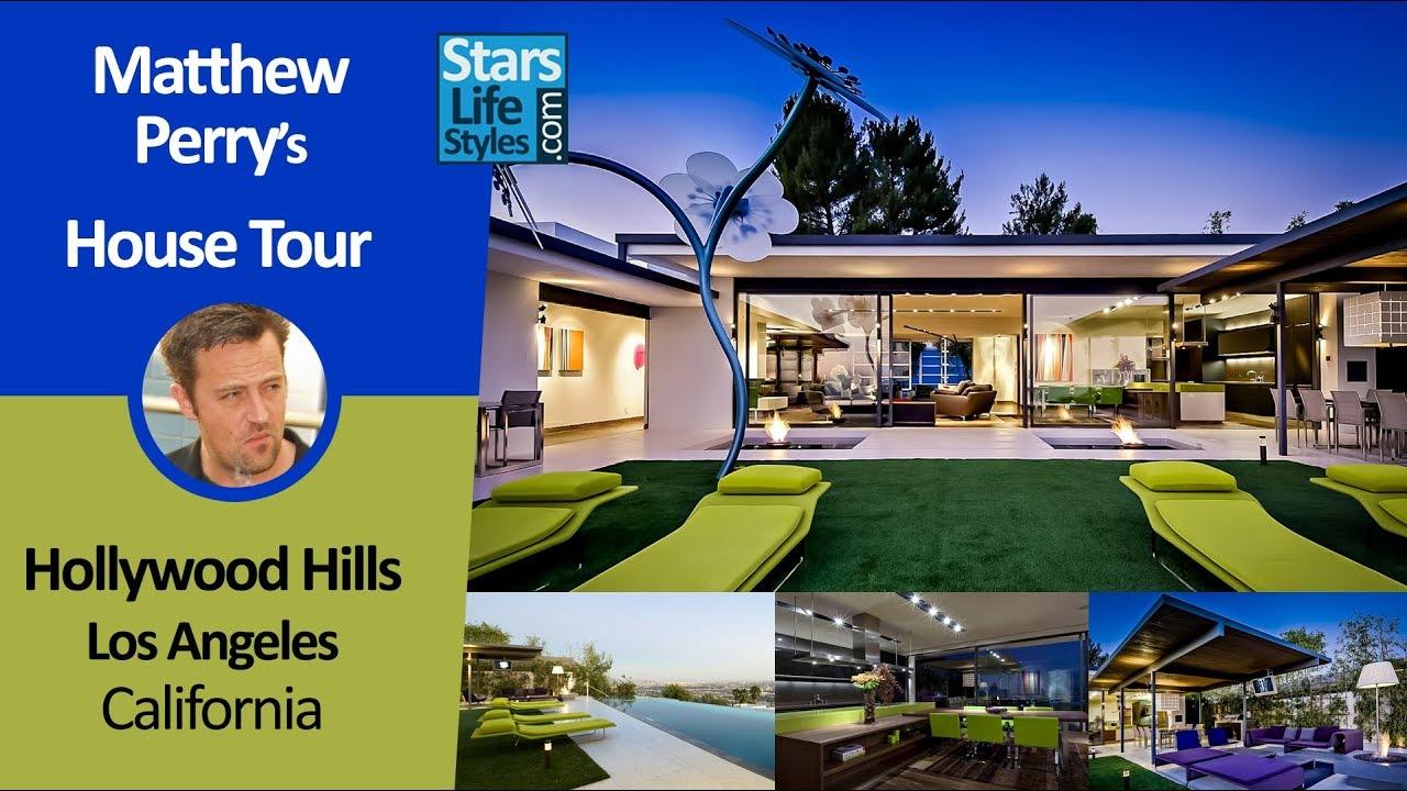 Matthew Perryu0027s Hollywood Hills House Tour | Los Angeles, California |  $13.5 Million Photo