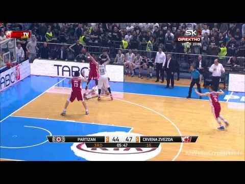 Partizan - Crvena zvezda Telekom | Jenkins i Marjanović [Plejof ABA lige, 19.04.2015]