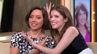 Anna Kendrick, Aubrey Plaza Talk 'Mike and Dave Need Wedding Dates'