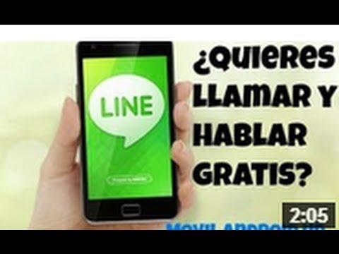 Como Llamar gratis y Enviar mensajes Gratis -LINE