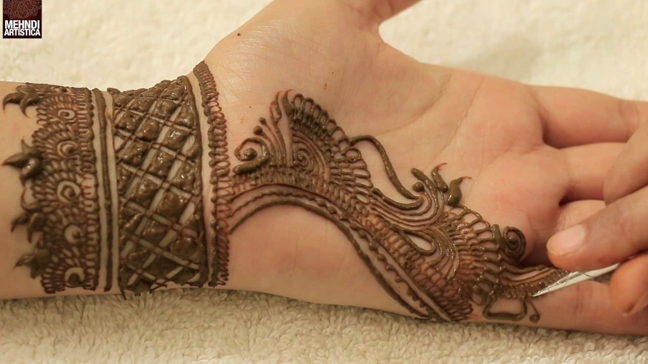 Egyptian Henna Designs: Tradition Egyptian Touch Henna Mehndi Design 2017