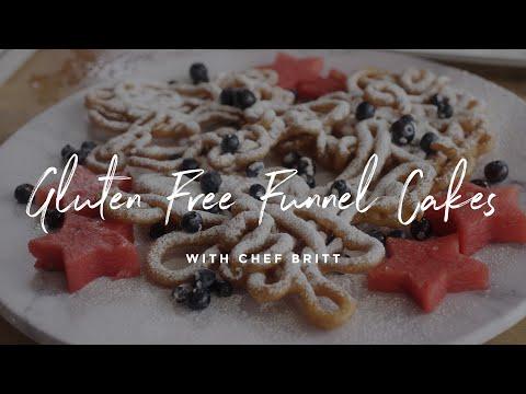 Gluten Free Funnel Cake