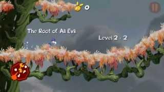 Rayman Jungle Run Windows 8 Windows 8.1 Windows RT gameplay Fly World levels 2-1 to 2-9
