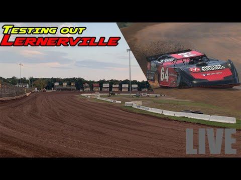 Testing out Lernerville Speedway on iRacing