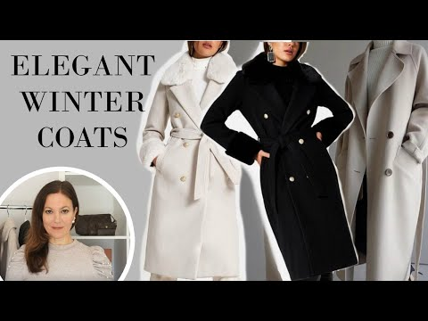 Classic Elegant Coats That Makes Every Outfit Look Fabulous | Fashion Over 40