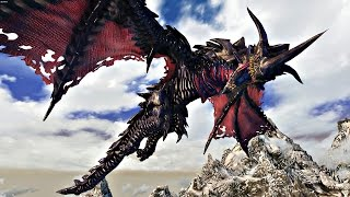 Skyrim mod — Дракон Нидхёгг: Совнгард или Вальхалла?