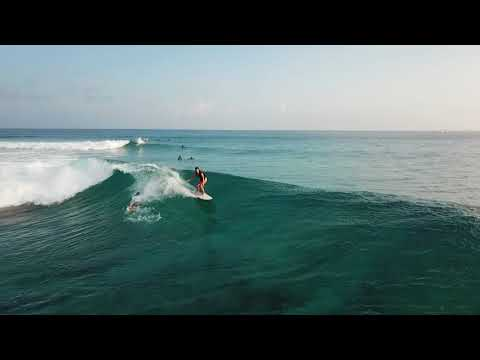 March 2018 maldives surf sport Honkys : Kim N