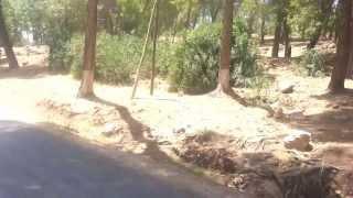 el ksiba hacia taghbalout(Marruecos)