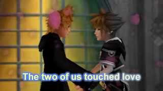 Gambar cover HEAVEN - Ayumi Hamasaki - Kingdom Hearts Music Video - Sora X Roxas (SoRoku)