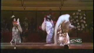 Danza del León (Kagami-jishi) - Japón (fragmento II)