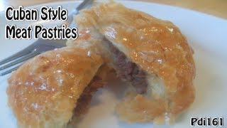 Cuban Style Meat Pastries  Pastelitos De Carne