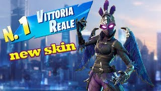 "Fortnite: Royal victory with new ""Female Crow"" Ps4 skin #Miksal619"