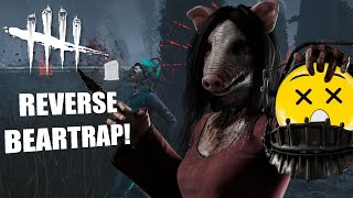 REVERSE BEARTRAP POWER! | Dead By Daylight THE PIG PERK BUILDS
