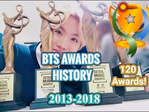 BTS awards History 2013-2018! All Awards and Pictures! Vote for next competition in Description!