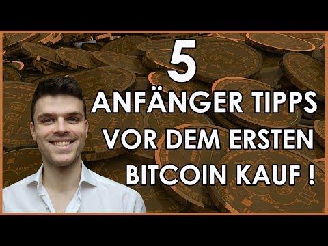 5 Anfänger Tipps für den ersten Bitcoin Kauf | Kryptowährungen