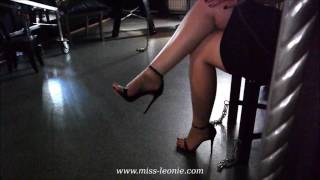 Fetish in Hamburg: High Heels, Foot Worship and Leg Teasing by Domina Miss Leonie