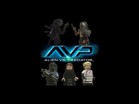 LEGO AVP (Alien Vs Predator) Episode 1: The Research Lab