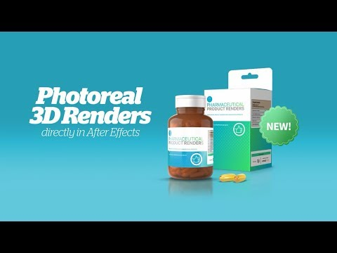 Supplement & Pharmaceutical Product Video Ads Template