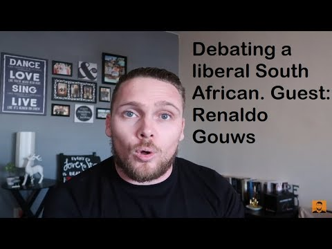 Debating a liberal South African: Farm Murders and Afrikaners. | Special Guest: Renaldo Gouws