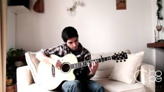 Bruno Mars Locked Out Of Heaven C-hope fingerstyle cover (free download)