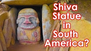 Is San Agustin Megalithic Site, a Hindu Temple?  Ancient Aliens in Colombia