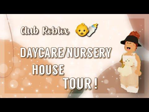 Club Roblox | Daycare/Nursery House Tour ! 👶🏫