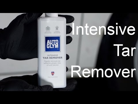 How to use Autoglym Intensive Tar Remover