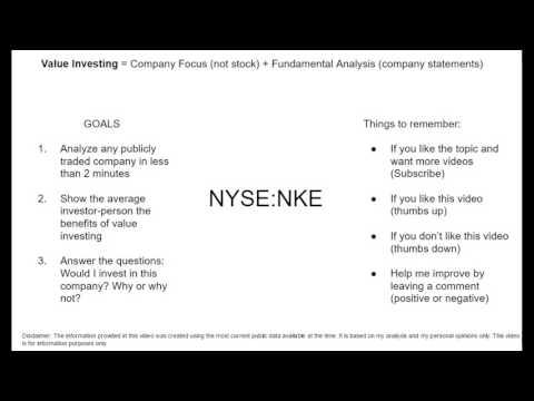 Investing in Nike.