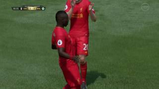 FIFA 17 Lovely Touch and Finish from Sadio Mane