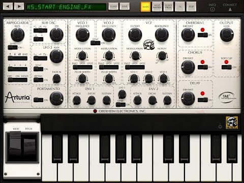 Aruria iSEM Synth Let's Play For 3 Minutes Demo for the iPad