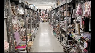 Live At Tuesday Morning-Come Shop The Craft Aisle With Me