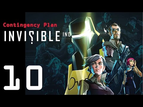 Invisible Inc. Contingency Plan 10 - Monster joins the team!