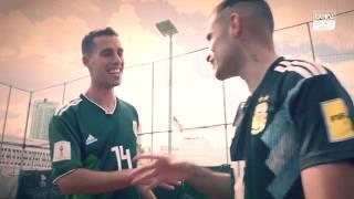 Delantero09 vs JaviFreestyle ft. beIN SPORTS USA - RETOS DE FÚTBOL