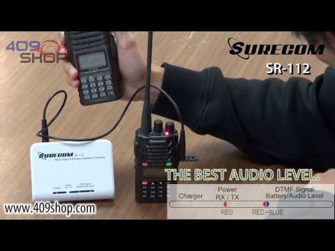 SURECOM SR-112 Radio record simplex repeater Controller 2