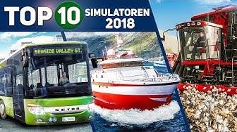 TOP 10 SIMULATOREN 2018: Das sind die besten Simulationen mit Traktor, Bus, Schiff und co!