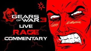 First Gears of War 3 Live RAGE Commentary