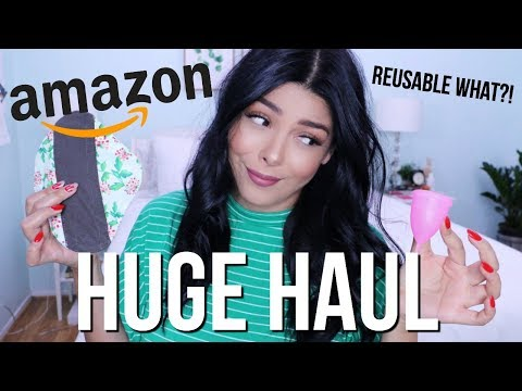 HUGE AMAZON HAUL | AFFORDABLE REUSABLE ECO FRIENDLY NEW PRODUCTS FALL 2018 | SCCASTANEDA