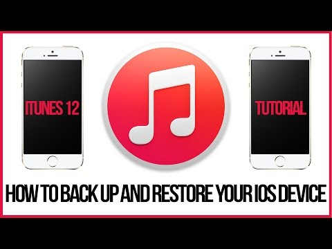 iTunes 12 Tutorial - How To Back Up Your iPhone, iPad, or iPod