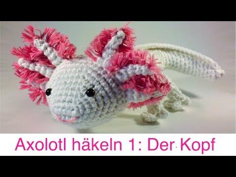 DIY: Axolotl Amigurumi häkeln – Zum flauschigen Einhorn