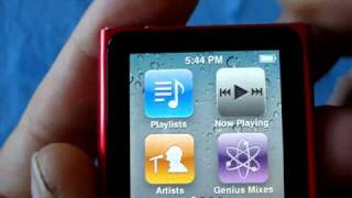 Unboxing the Apple iPod nano (6th generation)