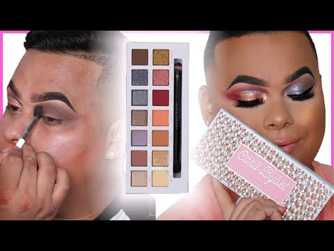 Carli Bybel X Anastasia Beverly Hills Eyeshadow Palette Review | Honest AF thumbnail